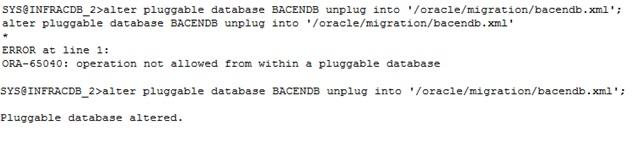 Unplug/Plug PDB between different Clusters – GREPORA