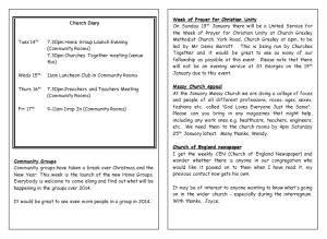Notices 12.1.2014