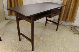 laminate top side mid century modern floating desk