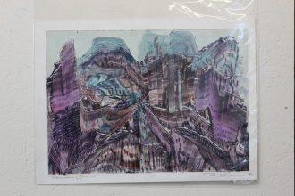 cityscape monoprint (2)