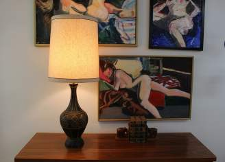 Mid Century Modern lamp by fortune