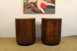 round end tables (2)