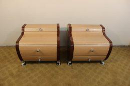 pair of modern nightstands (2)