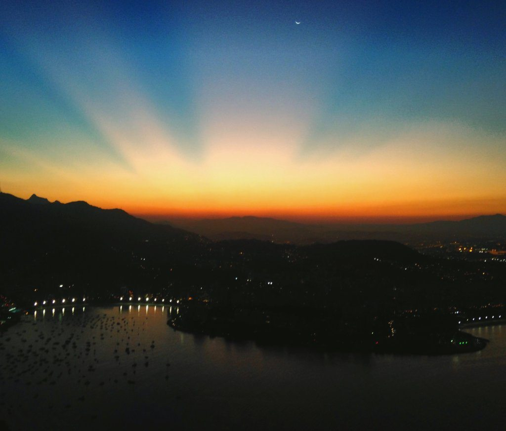 Pao de Azucar Sunset