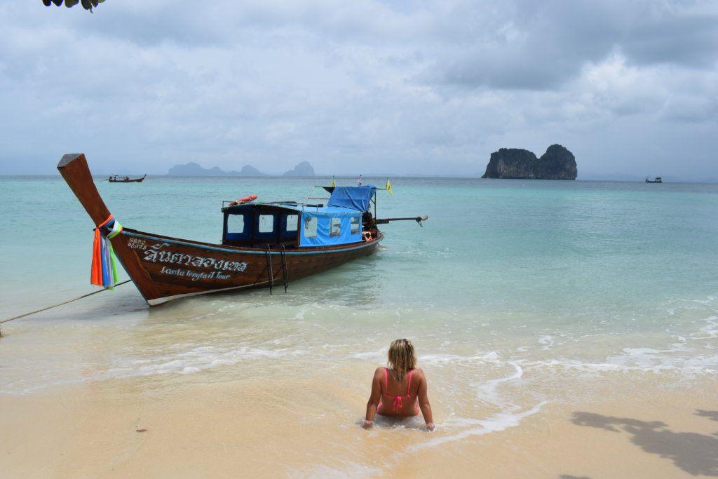 Enjoying the tropical beaches of Koh Lanta, Thailand