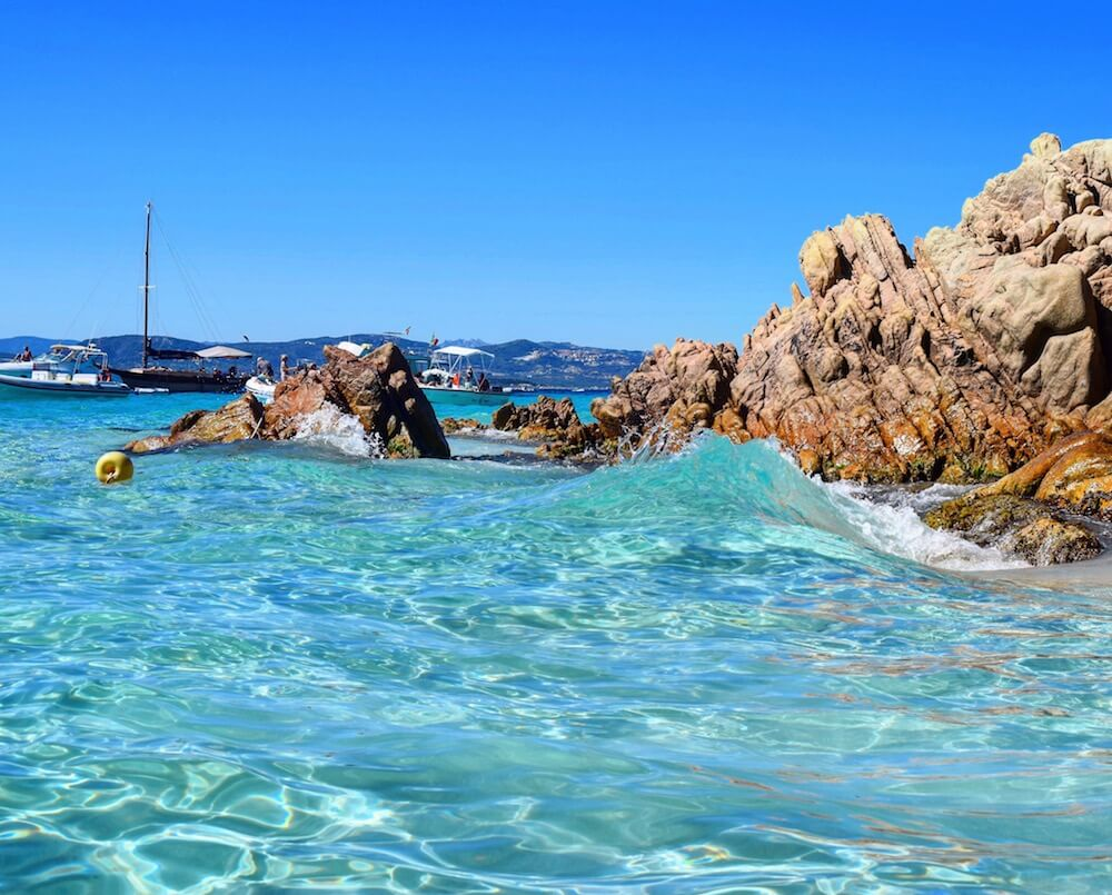 Cala Soraja, one of my favourite beaches in the Archipelago della Maddalena