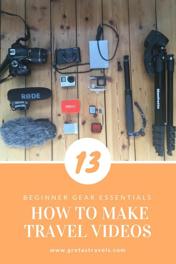 Want to take awesome travel videos and photos but don't know where to start? Check out this beginners gear guide!