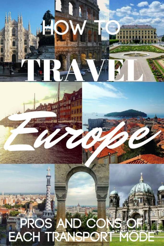 Europe might seem like a small place when compared to its fellow continents, however there is a huge variety of cultures, languages and countries within it. If you're planning a trip around Europe but don't know how to travel effectively, check out this post for the pros and cons of each mode of transport.