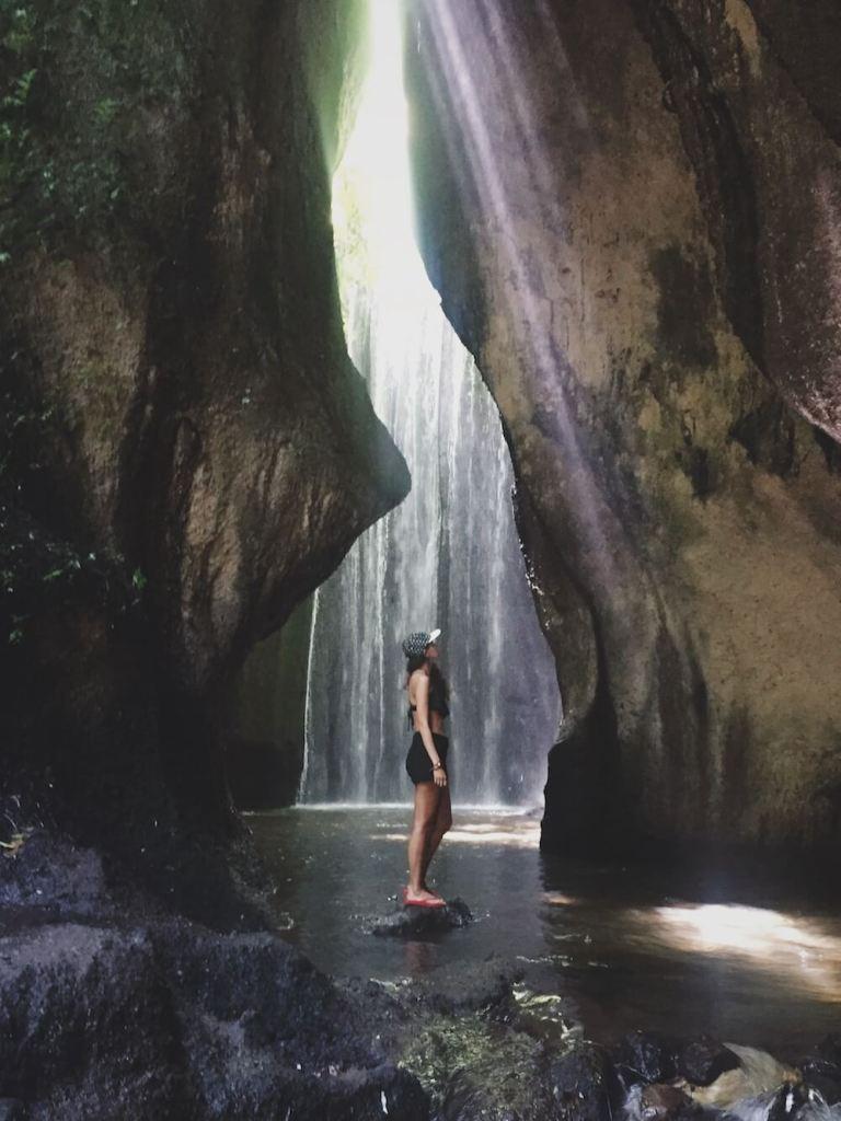 Tukad Cepung Waterfall, shot by @sashi_mie