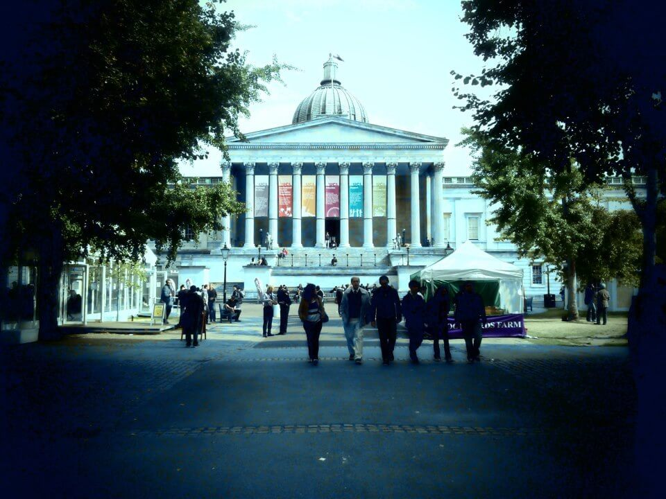 The main quad of UCL