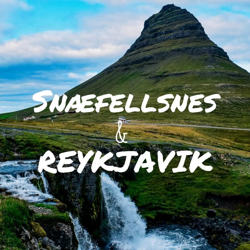 Best Of Reykjavik & Awesome Landmarks In The Snæfellsnes Peninsula
