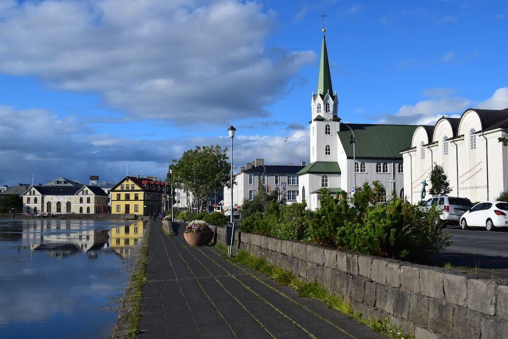 City views in Reykjavik