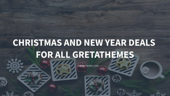 Christmas and New Year deals for all themes