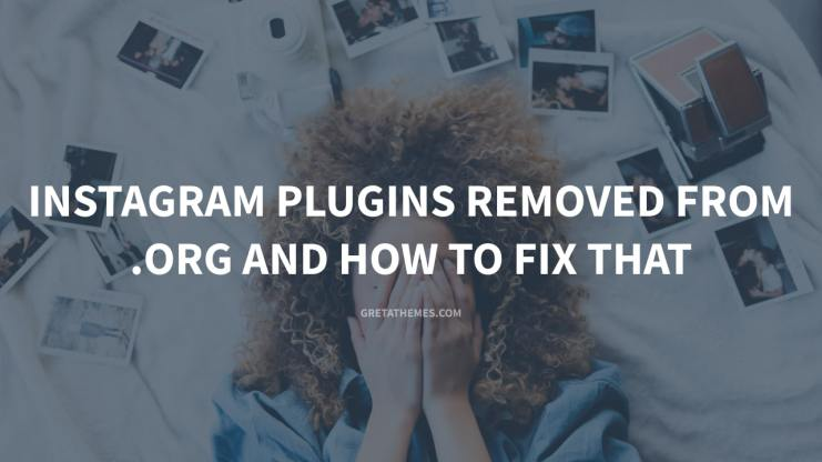 WordPress Instagram Plugins Removed