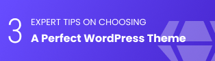 Choose WordPress Theme