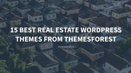 15 best real estate wordpress themes from themeforest