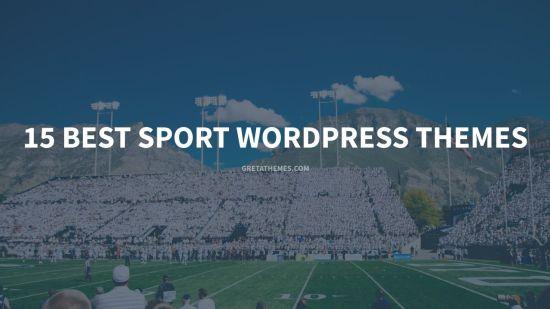 15 Best Sport WordPress Themes