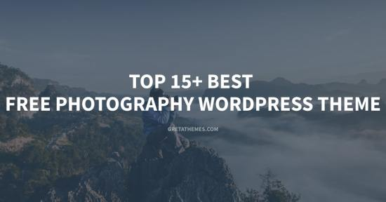 This is top 15+ best free photography WordPress theme in 2020