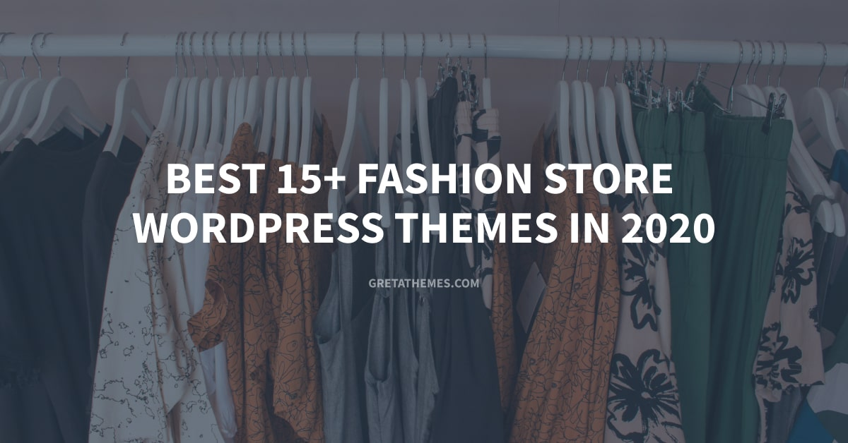 Top best fashion store WordPress themes.
