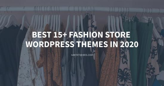 Top best fashion store WordPress themes.