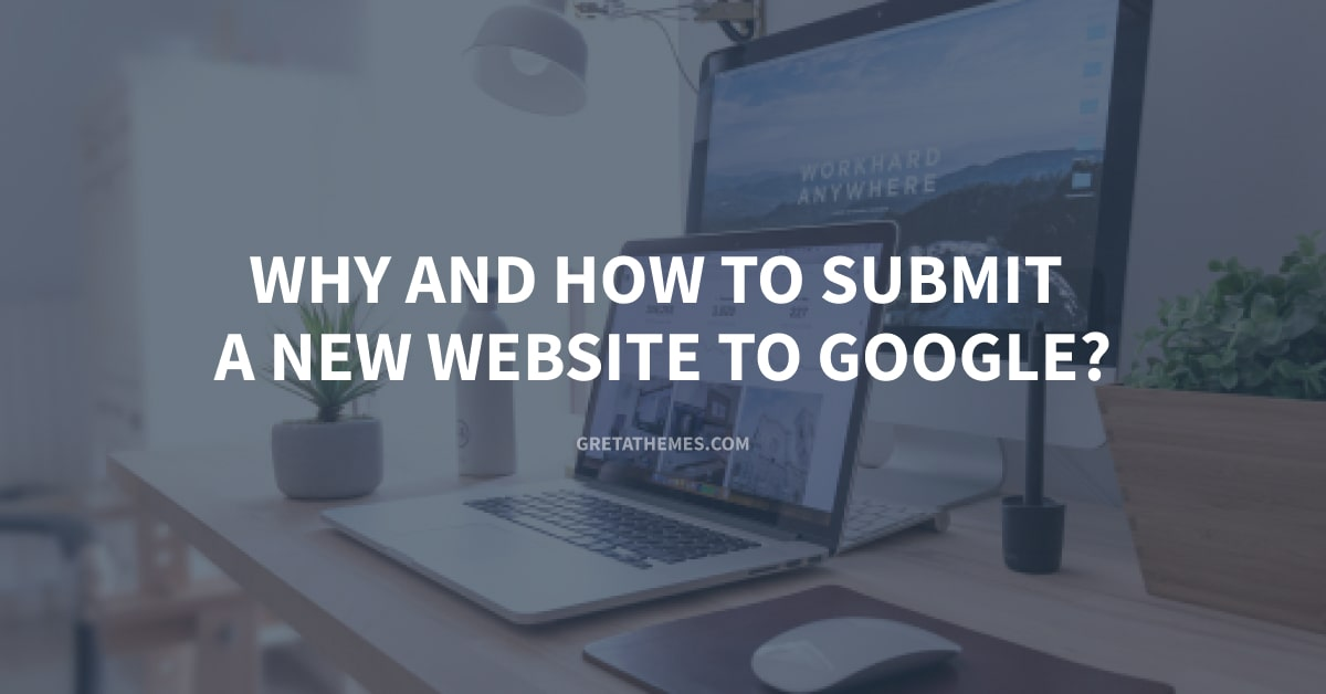Submit a New Website to Google?