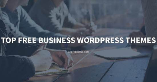 Top Free Business WordPress Themes
