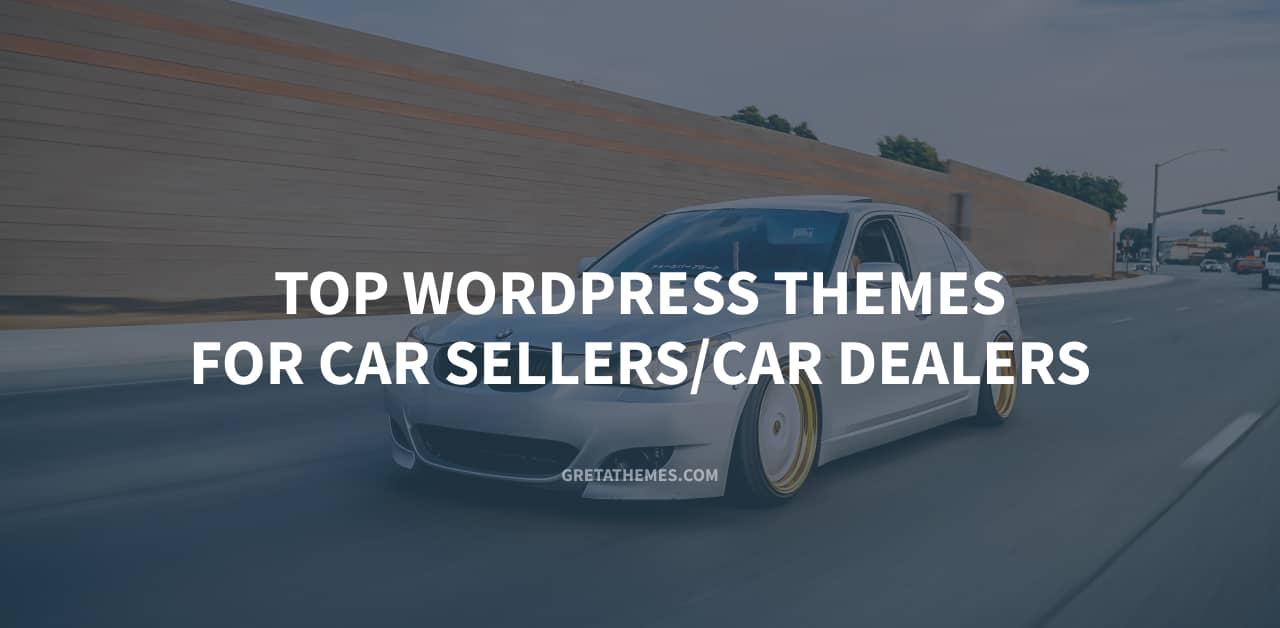 Top WordPress theme for car seller. car dealers
