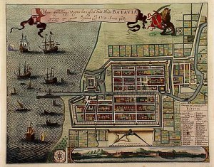 picture of map of Batavia