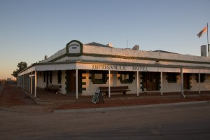 The Birdsville pub