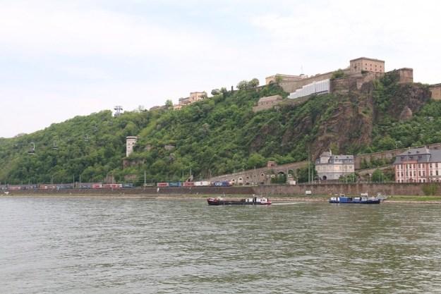 Ehrenbreitstein from Koblenz