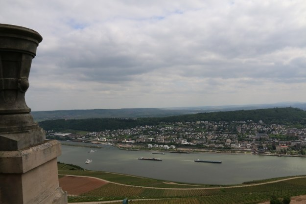 The Rhine from the monument