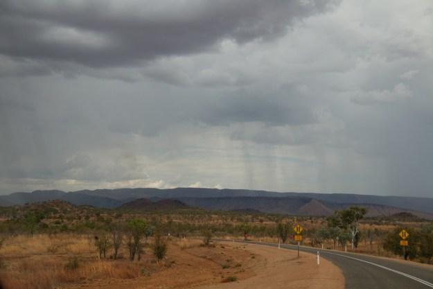 There's rain ahead