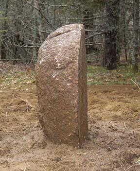 Oak Island Standing Stone