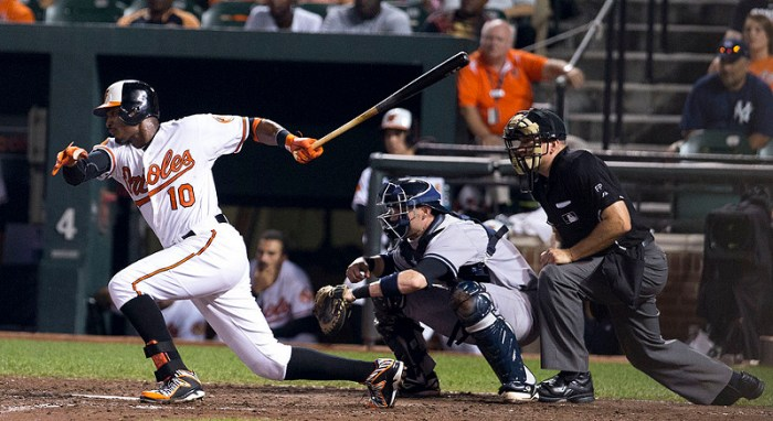Orioles' Adam Jones - 2nd Image by Keith Allison - Creative Commons