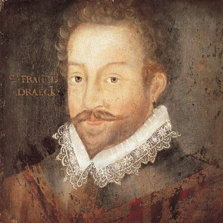 Sir Francis Drake (1540-1569).