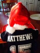 Matthews Santa Hat