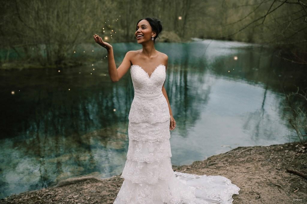 Disney princess wedding dress Tiana
