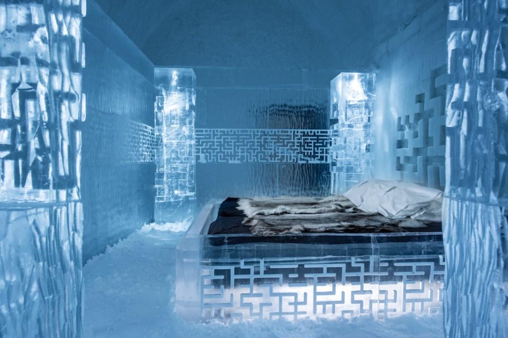 Ice palace hotel