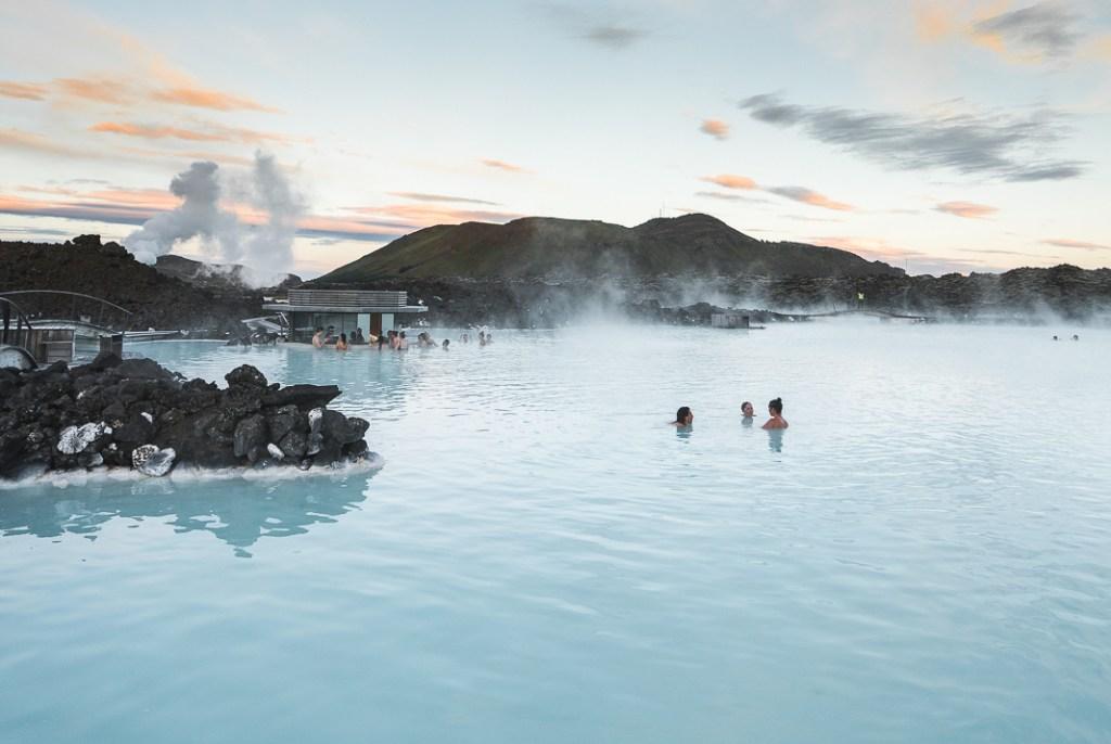 blue lagoon Iceland hot springs