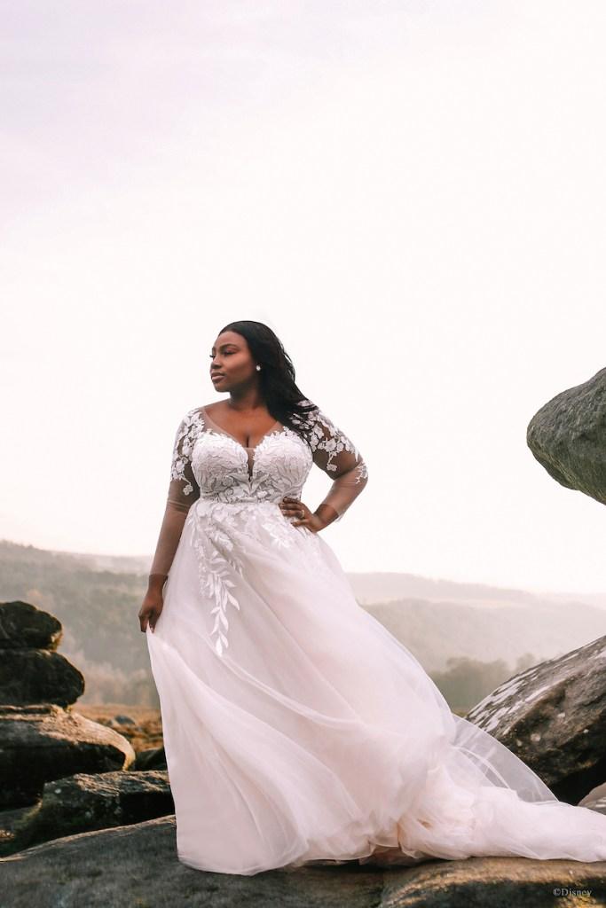 pocahontas inspired wedding dress