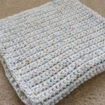 Single Crochet Baby Blanket Gretchkal S Yarny Adventures