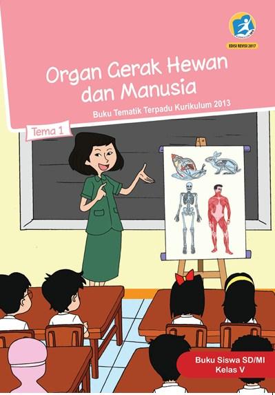 (DOC) RPP Kelas 5 Tema 1 Organ Gerak Hewan dan Manusia K13...