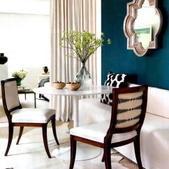 Dark Teal Dining Room Chairs Target Folding Chair Banquette Seating Gretha Scholtz