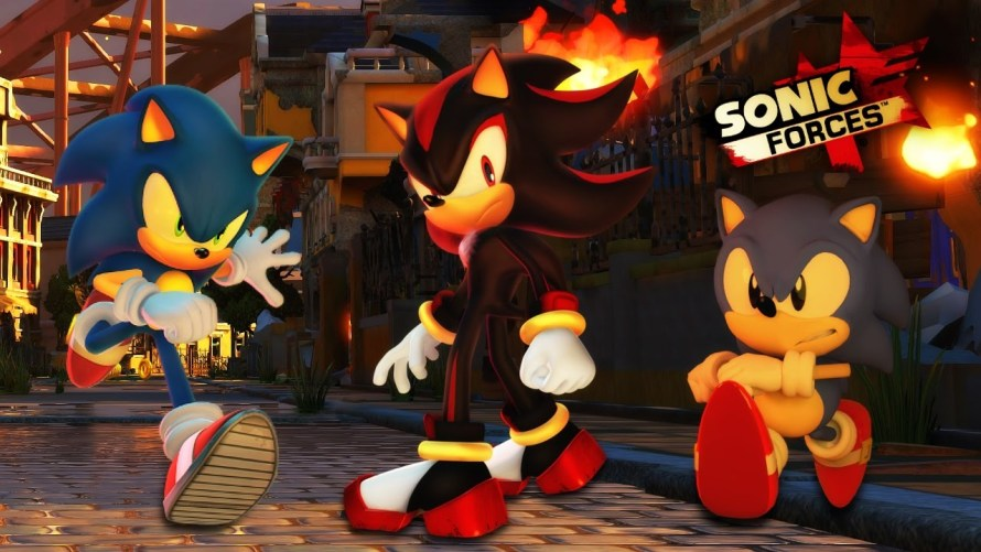 sonic forces sorties jeux video