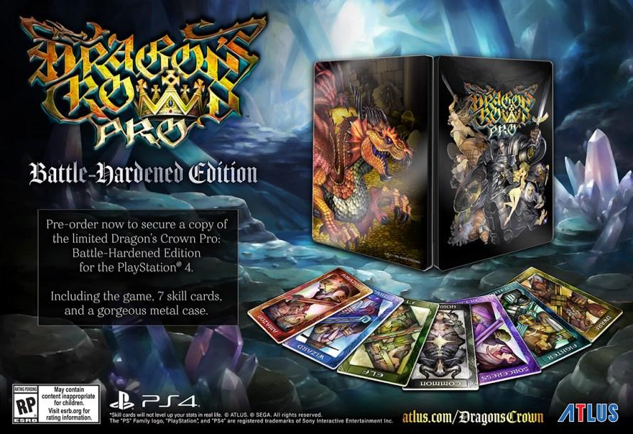 Dragon's Crown Pro Hardened Edition