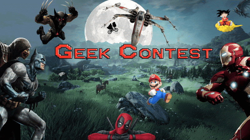 geek contest 12 science-fiction