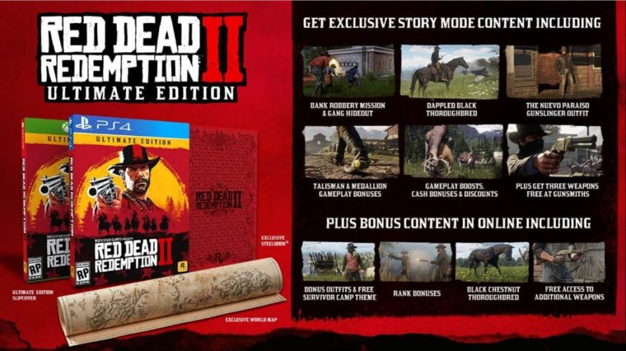 read dead redemption 2 ultimate edition