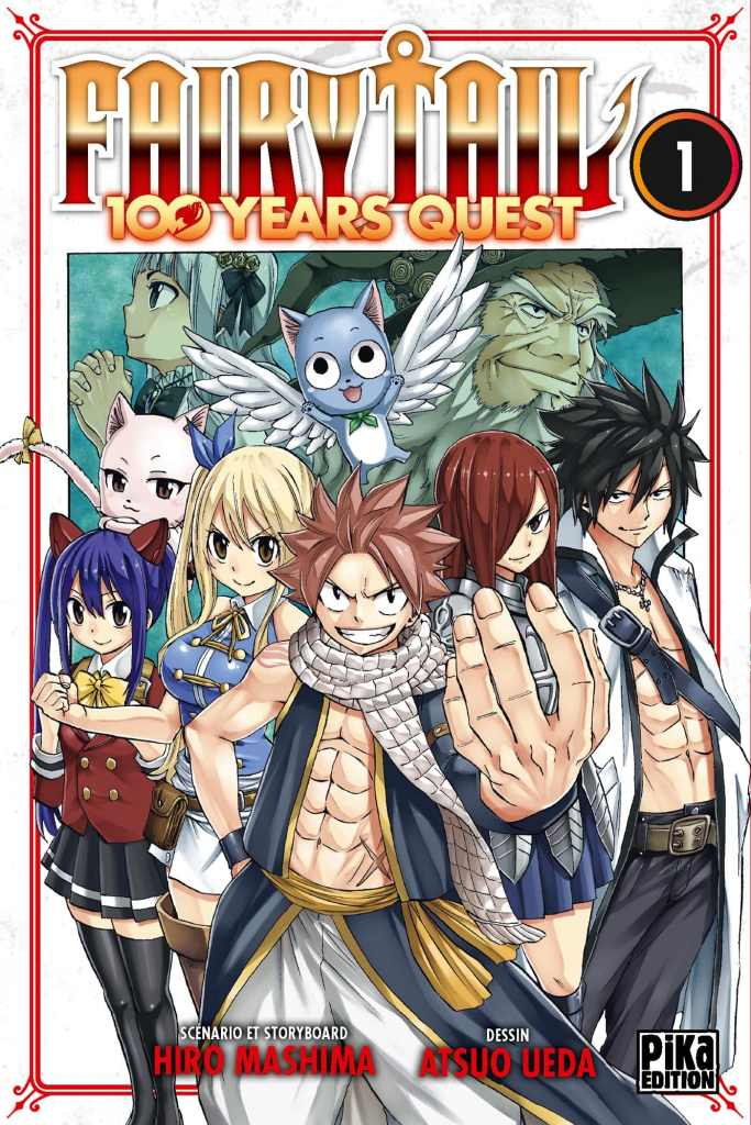 Fairy Tail 100 Years Quest cover