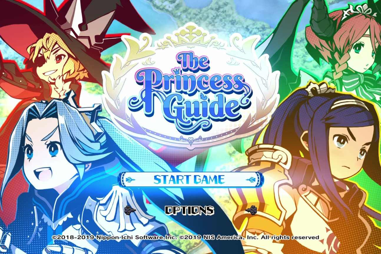 The Princess Guide Cover test