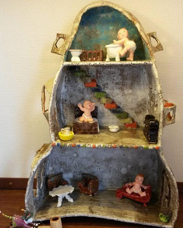 Kirsten Rasmussen KIRA Gaudi dukkehus